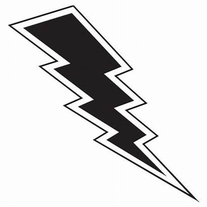 Lightning Bolt Silhouette Clip Clipart Transparent Lighting