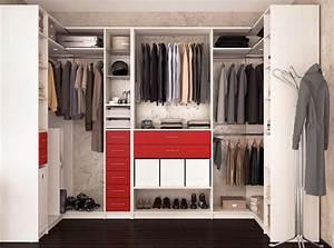 Dressing Petit Espace : dressing d angle les espaces de rangement indispensables pour ce meuble ~ Teatrodelosmanantiales.com Idées de Décoration