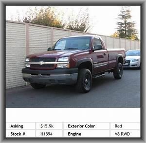 2004 Chevrolet Silverado 2500hd Work Truck Pickup Chrome