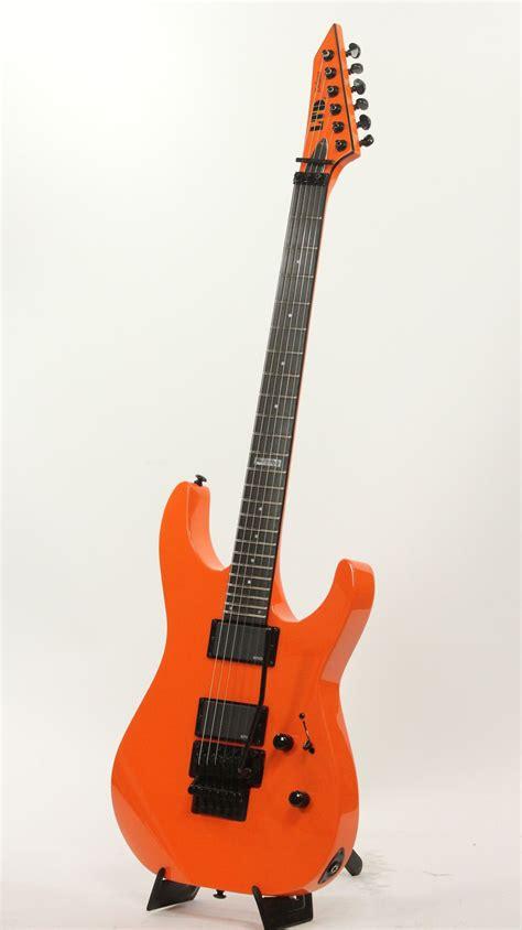 ESP LTD M-1000 GGO GoGo Orange Electric Guitar