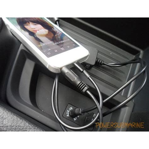 Bmw Y Cable Y Cable Lead Usb Aux Interface For Bmw Mini Cooper Iphone