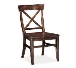 aaron wood seat chair pottery barn