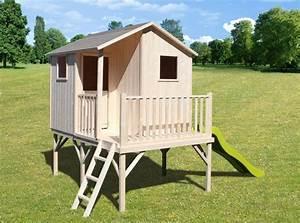 catgorie cabanes pour enfants du guide et comparateur d39achat With exceptional amenagement exterieur terrasse maison 12 cabane pilotis