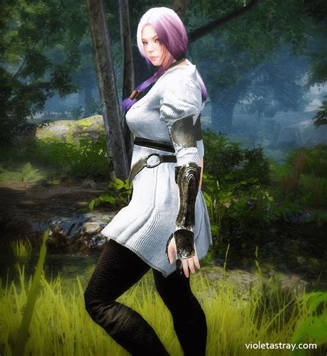 Bdo Costumes You Can Craft Game Violet Astray