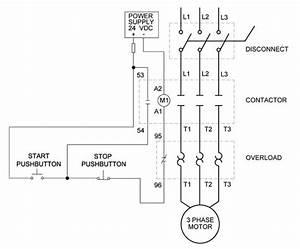 Ac Motor On  Off Controls