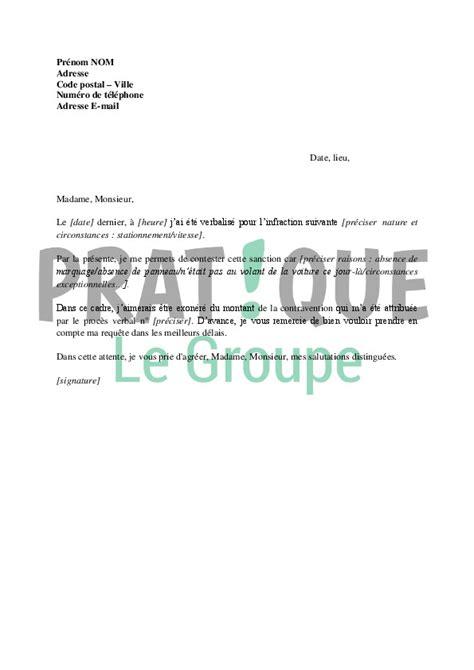 lettere pv lettre de contestation de pv beautiful lettre de