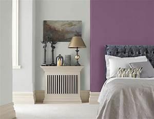 Wandfarbe Taupe Kombinieren : wohnraumgestaltung mit frischen farben lila und grau home pinterest farben wohnraum und ~ Markanthonyermac.com Haus und Dekorationen