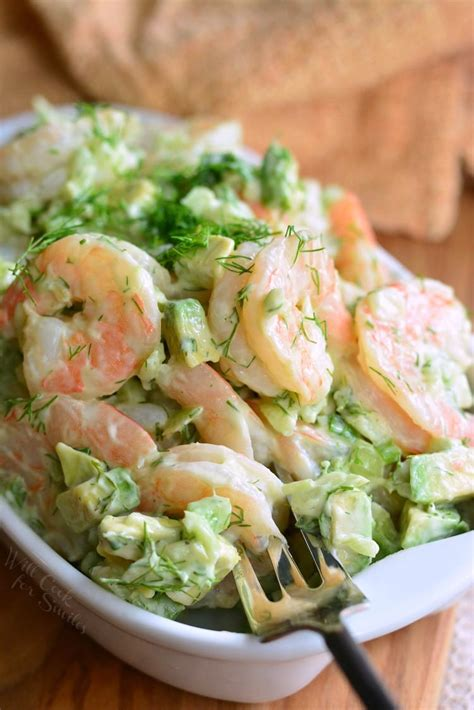 17 shrimp appetizers you need for party season. The BEST Avocado Cold Shrimp Salad - Will Cook For Smiles