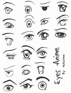 :anime eyes: by Naiome-san on DeviantArt