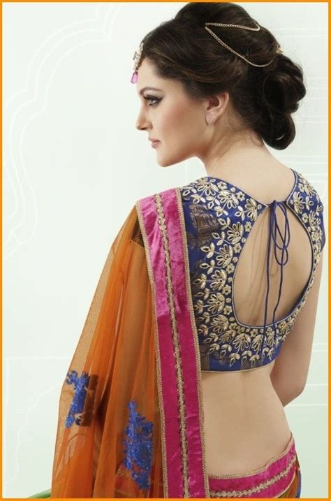 the 25 best ideas about blouse back neck designs on blouse designs saree blouse