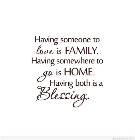 family wallpaper quote hd
