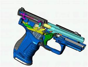 Walther P99 3d