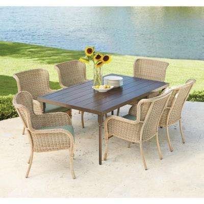 6 7 person rectangle patio dining sets patio dining