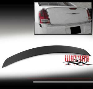 FOR 11-17 CHRYSLER 300 300C 300S REAR TRUNK SPOILER LIP ...