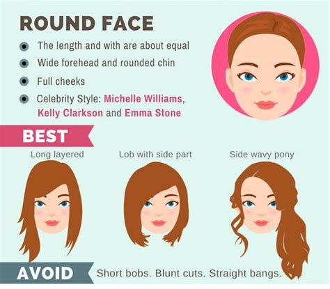 Perfect Hairstyle For Round Face Female