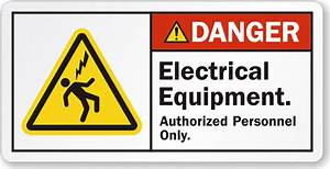 electrical equipment labels With electrical equipment labels