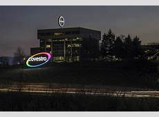 Polycarbonate sheet brings bold, colorful Covestro signage
