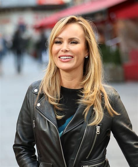 She turned heads for all the right reasons in her elegant outfit. AMANDA HOLDEN Leaves Heart Radio in London 11/18/2019 - HawtCelebs