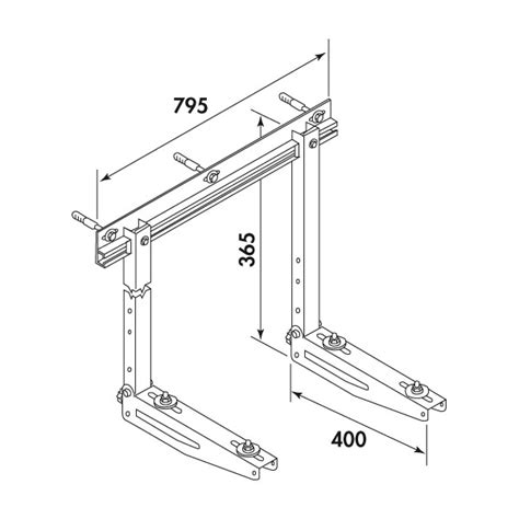 support mural r 233 glable pour climatiseur plomberie fr