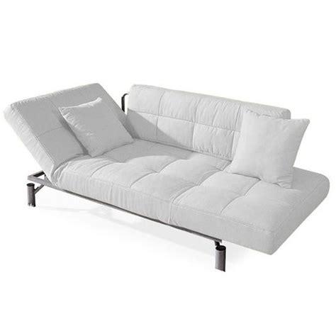 convertible design monaco blanc canapé lit 1 achat