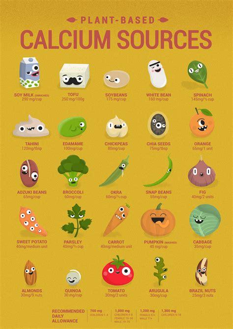 25+ Bästa Calcium Sources Idéerna På Pinterest