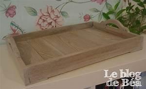 Plateau De Bois : diy plateau en bois de palette le blog de b a ~ Teatrodelosmanantiales.com Idées de Décoration