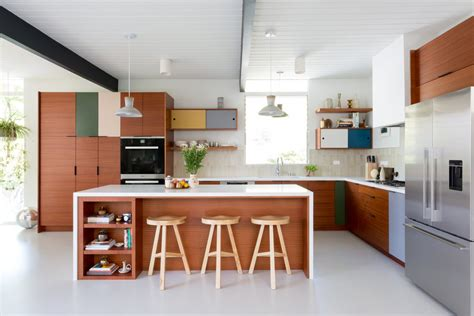 Ideas For Old Kitchen Cabinets - midcentury modern stunner kitchen remodel veneer designs