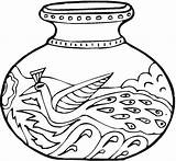 Vase Coloring Pages Pottery Vases Printable Greek Adult Colorpagesformom Ancient Getcolorings Coloringpages sketch template