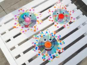 kita kinderzimmer upcycling funkelnde cd blumen basteln mit kindern