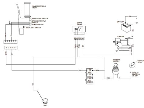 Cycle Electric Generator Wiring Diagram by Cycle Electronics Wiring Diagrams Downloaddescargar