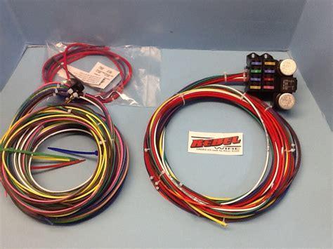 T Wire Harnes by Rebel Wire New Underseat T Wiring Harness
