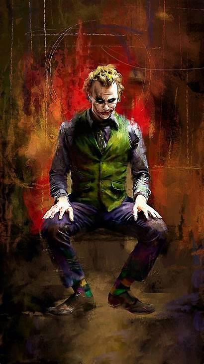 Joker Batman Wallpapers Pc Zedge Drawing Deadpool