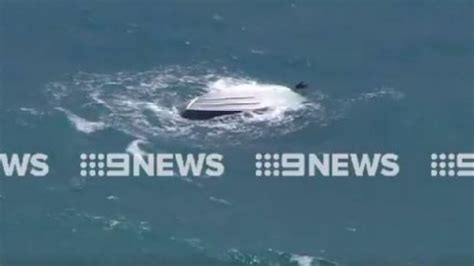 The Boat Capsized by Three Rescued From Capsized Boat Mandurah