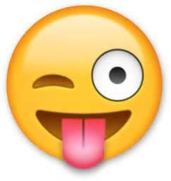 Emoji Sticking Tongue Out