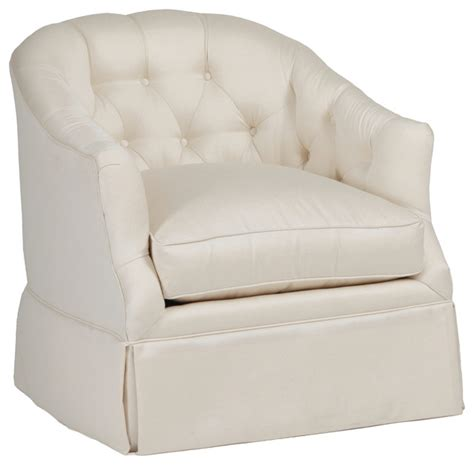 gabby tufted seat swivel chair indoor chaise