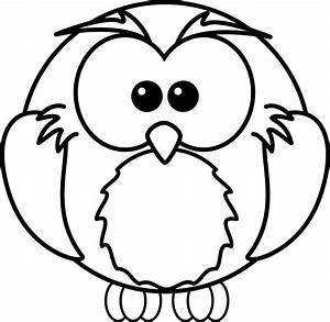 Flying Owl Line Drawing | Clipart Panda - Free Clipart Images