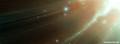 light streaking  space facebook cover