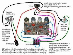 Pin Guitar Input Jack Wiring Diagram 2