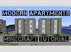Modern Apartments Minecraft Tutorial YouTube