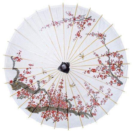 luna bazaar cherry blossom parasol   chinese