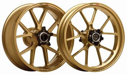 Marchesini Wheels Motorcycle Forged Gold Magnesium Rims