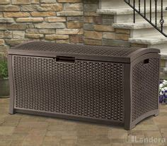 Suncast Rattan Deck Box Dbw9935 by Storage Boxes Storage And Ps On