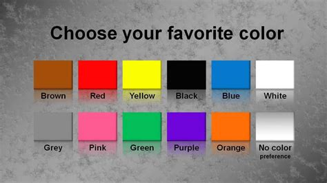 favorite color quiz psycho test what is your sexual type