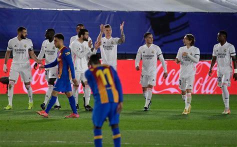 Real Madrid vs Barcelona 2-1; nuevo líder en Liga y ...