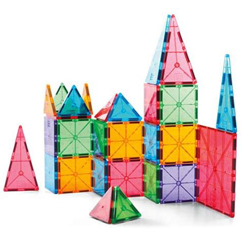 magna tiles clear colors 100 piece set the learning tree