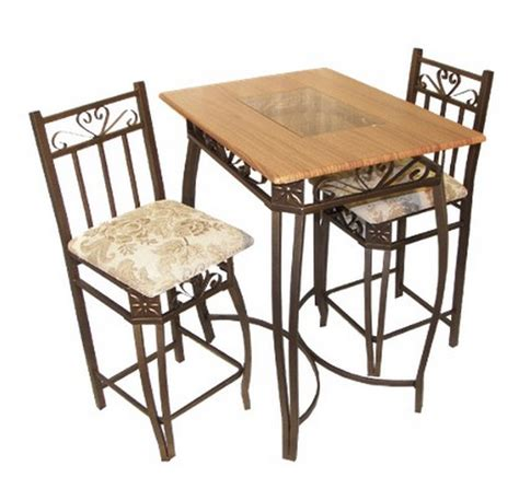 6 beautiful and pub table sets of 3 furniture