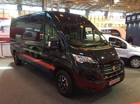fiat talento sportivo sharp looking fiat ducato sportivo trim revealed business vans