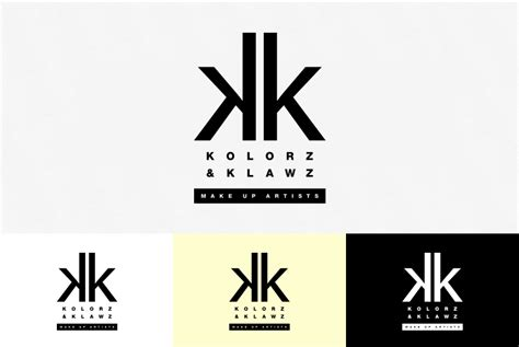 kolorz klawz logo trick design
