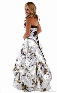 realtree snow camo wedding dress pictures to pin on With snow camo wedding dresses