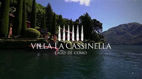 villa la cassinella luxury villa  rent  lake como  manicured gardens youtube